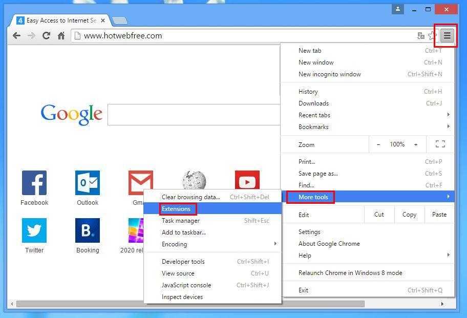 Narzędzia rozszerzeń Chrome